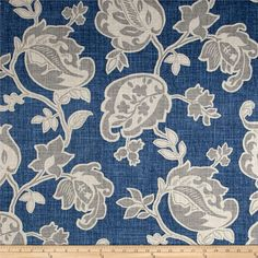 Floral Curtains Magnolia Homes Arabella, Yacht, Barley, Your Choice of Color, Width and Length Blue Grey Curtains, White Valance, Gold Curtains, Floral Curtains, Custom Curtains, Burlap Curtains, Yacht Design, Design Design, Dream Furniture
