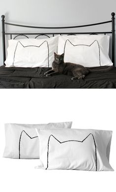 Cat Nap Pillow Cases:Set of 2 Mother's Day Gift for di Xenotees