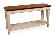 Sofa Table | Stone Creek Furniture http://www.stonecreekfurniture.com/tables/sofa-table/