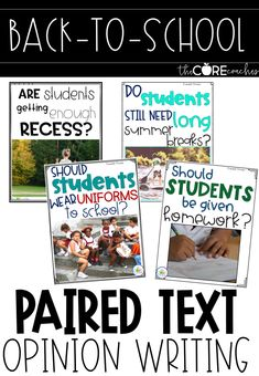 GREAT prompts to jumpstart opinion writing at the beginning of the year, or anytime you want to engage your students!