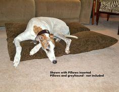 Dog Bed Pillow Pocket