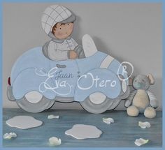 SILUETAS INFANTILES EVA OTERO Pintura Country, Stencil, Baby Shower, Baby Quilts, Baby Room, Baby Items, Embellishments, Projects To Try, Aqua