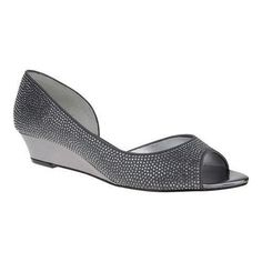 Women's Nina Rally (Grey) Luster Satin (US Women's 5 M (Regular))