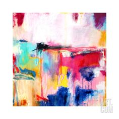 Multicolored Abstract, c. 2008 Premium Giclee Print by Alison Black at Art.com
