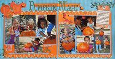 Pumpkin Magic - Scrapbook.com