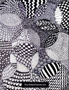 Drawing Doodle Easy Zentangle drawing is so freaking fun and easy- this is a very easy idea to get you started on Zentangle basics. - Zentangle drawing is so freaking fun and easy- this is a very easy idea to get you started on Zentangle basics. Easy Zentangle, Zentangle Drawings, Zentangle Patterns, Zentangles, Arts And Crafts For Teens, Diy For Teens, Teen Diy, Zantangle Art, Theme Tattoo