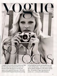 Brighton Rock | Lara Stone by Alasdair McLellan for Vogue UK November 2010