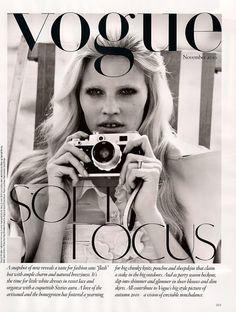 Brighton Rock | Lara Stone by Alasdair McLellan for Vogue UK November 2010