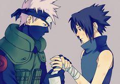 I feel like Sasuke did listen to Kakashi and thought about not leaving Konoha but then shit happened