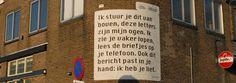 Nieuwe website Straatpoezie.nl | Database gedichten in openbare ruimte