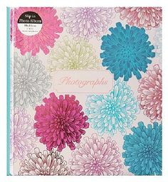 #Anker Multi flower Burst Photo Album 7x5 - 140 #72 Advantage card points. This vibrant multi flower burst photo album is a stylish way to keep your treasured pictures in one place. FREE Delivery on orders over 45 GBP. (Barcode EAN=5012128356339)