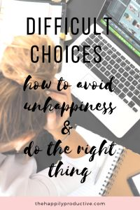 How do you make a difficult choice? How do you avoid making decisions that you'll later regret? Discover meaningful tips to help you make the right choices. Self Development, Personal Development, Are You The One, Are You Happy, What Might Have Been, Reaching Goals, Feeling Trapped, Motivational Speeches, Happy Relationships