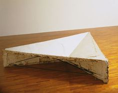 Bruce Nauman, Model for Triangular Depression