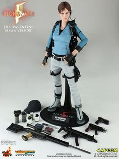 action toys | Hot Toys Resident Evil Jill Valentine 12 inch action figure (BSAA)