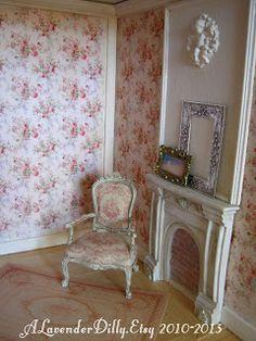 Lavande House Miniatures: 2013 Decor, Shabby Chic, Room, Miniatures, House, Interior, Miniture Things, Home Decor, Tiny House Decor