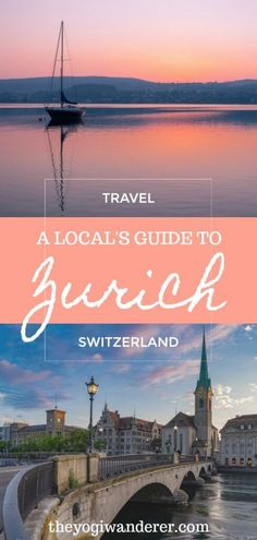 Best things to do in Zurich in 1 or 2 days: a local's guide. What to do in Zurich, Switzerland, including Lake Zurich, Zurich old town, Lindenhof, Zurich West, shopping at Bahnhofstrasse, and nightlife spots, as well as the best museums, restaurants, and hotels. A complete Zurich travel itinerary for 1 or 2 days. #Zurich #Switzerland #Europe Europe Travel Guide, Europe Destinations, Asia Travel, Travel Guides, Beach Travel, Travel Hacks, Budget Travel, Switzerland Travel Guide, Switzerland Itinerary