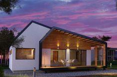 Proiecte de case din lemn cu trei dormitoare - Case practice