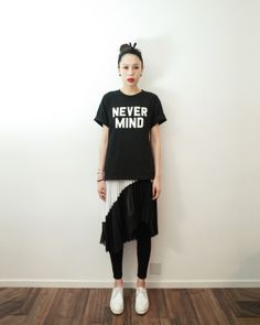nevermind slogan tee | ILIKESUNDAY