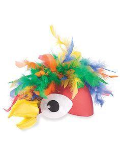 parrot girl headpiece