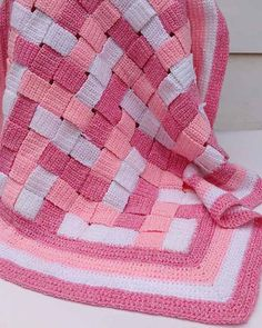 Picture of Baby Blocks Afghan Crochet Pattern