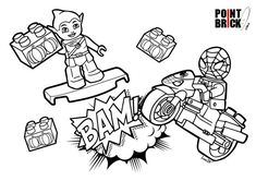 Lego Spiderman Goblin Coloring Pages See the category to find more printable coloring sheets. Also, you could use the search box to find what you want. Ninja Turtle Coloring Pages, Football Coloring Pages, Avengers Coloring Pages, Spiderman Coloring, Lego Coloring Pages, Puppy Coloring Pages, Printable Coloring Pages, Coloring Books, Coloring Sheets