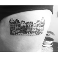 Image result for amsterdam canal tattoo