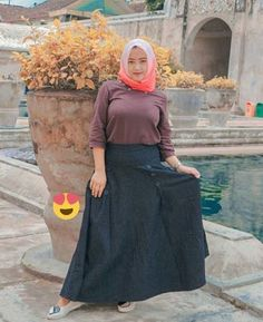 new Ideas for fashion outfits summer modest – Hijab Club Arab Girls Hijab, Girl Hijab, Muslim Girls, Muslim Women, Big Fashion, Hijab Fashion, Fashion Outfits, Club Fashion, Beautiful Hijab