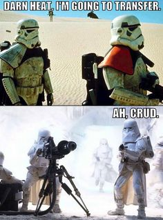 Not what he had in mind... #starwars