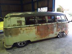VW split window bus