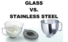 Which KitchenAid Bowl is Best: Glass or Stainless Steel? Copper Kitchen Aid, Glass Kitchen, Kitchen Aid Mixer, Copper Kitchenaid Mixer, Kitchenaid Mixer Accessories, Commercial Kitchen, Cake Batter, Vegan Baking, Kitchen Hacks