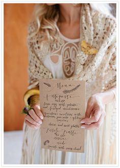 Ideas Bridal Brunch Menu Card For 2019 Wedding Menu, Wedding Stationary, Our Wedding, Dream Wedding, Wedding Paper, Dinner Party Menu, Brunch Menu, Woodland Wedding, Rustic Wedding