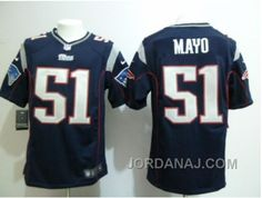 http://www.jordanaj.com/nike-new-england-patriots-51-jerod-mayo-blue-game-jerseys.html NIKE NEW ENGLAND PATRIOTS #51 JEROD MAYO BLUE GAME JERSEYS Only 21.48€ , Free Shipping!