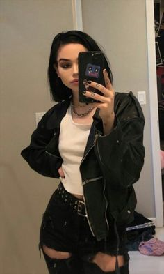 Grunge Outfits, Edgy Outfits, Cute Outfits, Fashion Outfits, Maggie Lindemann, Mode Grunge, Grunge Girl, Aesthetic Girl, Aesthetic Clothes