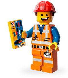 Lego Movie Series - Hard Hat Emmet