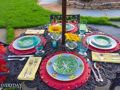 Tablescape Tuesday: Mid-Summer's Evening   Everyday Living