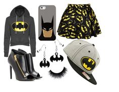 """batman"" by alexfred ❤ liked on Polyvore featuring Retrò, Casetify and Tom Ford"