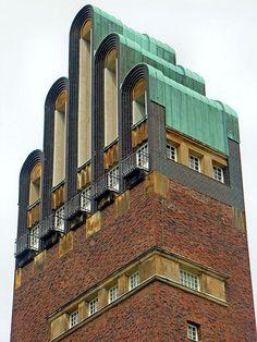 AMAZING...I've been and it's Fab...Darmstadt - Mathildenhöhe 25 Art Deco Design