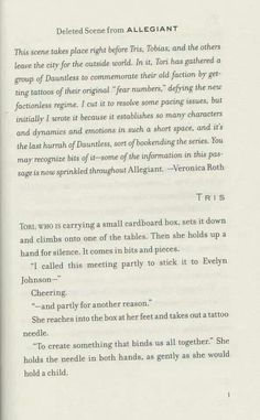 From allegiant or was going to be page 1