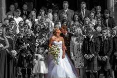 Wedding photography at Buchanan Arms Hotel by Gary Davidson Photography