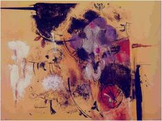 Palabras perdidas, 1968 by Lilia Carrillo. Art Informel. abstract