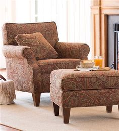 Main image for USA-Made Bedford Collection Upholstered Club Chair