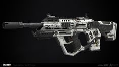 Assault Rifle: Black Ops 3 Concept - Maxwell Porter Approved Game Model - Caleb Turner High Poly Model - Caleb Turner/Blaed Hutchinson Game Model UVs and Optimization - Caleb Turner Texturing/Materials - Caleb Turner http://riflescopescenter.com/category/nikon-riflescope-reviews/