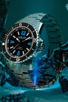 Lum Tec - MDV maximum darkness visibility with Super LumiNova Men's Watches, Cool Watches, Automatic Watches For Men, Koh Tao, Rolex Submariner, Beautiful Islands, Scuba Diving, Fit, Thailand
