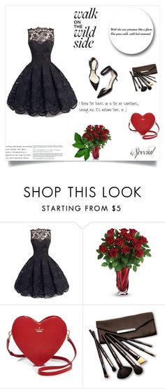 """""""Little black dress"""" by lovefashioonn ❤ liked on Polyvore featuring 3.1 Phillip Lim, Kate Spade and Borghese"""
