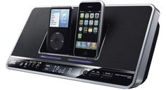 JVC launches dual iPhone and iPod dock | JVC has launched this shiny new joint iPod and iPhone speaker dock, to save you the tiresome trouble of having to take one gadget out of a dock and replace it with another. Buying advice from the leading technology site
