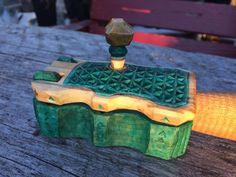 Hook knife box by Sebastian Ungh