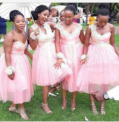 Pretty in Pink samples Nigerian Wedding Dresses Traditional, African Traditional Dresses, African Bridesmaid Dresses, Elegant Bridesmaid Dresses, Bridal Gowns, Wedding Gowns, Always A Bridesmaid, Bride Groom Dress, Lace Evening Dresses