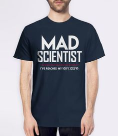 Science March 2017 Shirt: Mad Scientist March for Science t