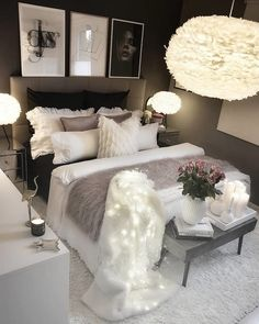 Werbung/Advertisement ( Markennennung) Wish you all a nice evening. Room Decor Bedroom, Girl Bedroom Decor, Master Bedrooms Decor, Bedroom Decor, Stylish Bedroom, Room Makeover, Room Ideas Bedroom, Home Bedroom, Home Decor