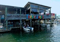 Gulf Shores Alabama - Tacky Jacks restaurant,- the one I have been to is actually out Ft. Morgan Rd. in the Ft. Morgan area